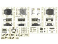 某会议中心全套施工图(含水电图)图片