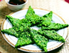 青菜饼图片