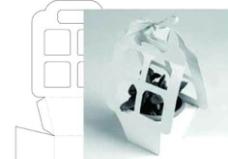 盆花礼品包装盒图片