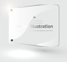 质感标签背景——矢量素材