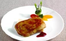 香煎鳕鱼图片