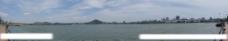 武汉·东湖磨山景区全景图片
