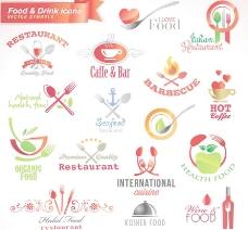 绿色食品logo 爱心咖啡图片