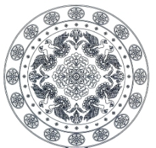 敦煌丝绸纹样图片图片