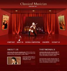 欧美网站 模板图片