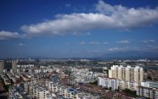 上饶 城市 俯瞰图片