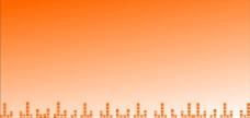 橘色背景图片