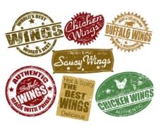 食品包装标签素材
