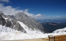 玉龙山顶图片