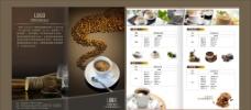 封面封底 咖啡折页图片