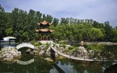 万泉湖风光图片