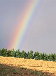 美丽 彩虹图片