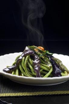 紫茄长豇豆图片