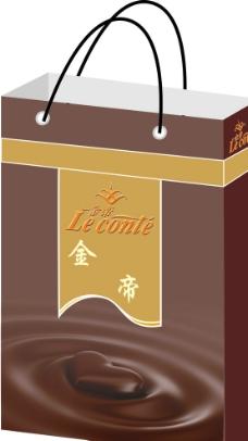 金帝巧克力手提袋 (效果图)图片
