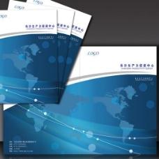 科技宣传册封面图片