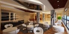 时尚酒店大厅图片