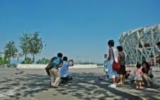 北京 游客图片