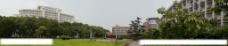 华中师范大学博雅广场全景图片