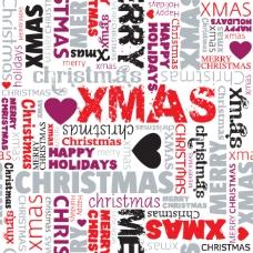 圣誕字母背景