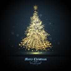 絢麗圣誕樹光斑