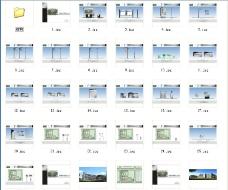 学校导视系统图片