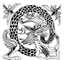刺绣 龙图片