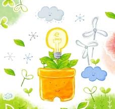 绿叶绿植环保素材图片