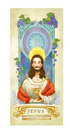 上帝基督图片