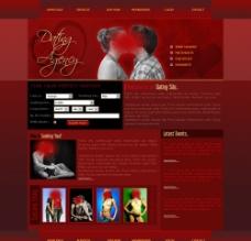 欧美网站 婚庆模板图片