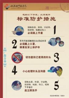 医院标准防护措施