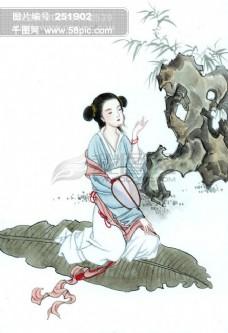 国画仙女 仙女44