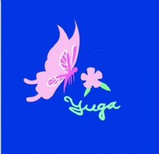 蝴蝶鲜花图片