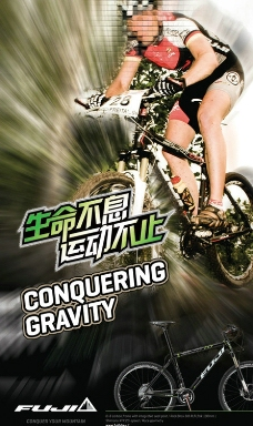 fuji 富士自行车图片