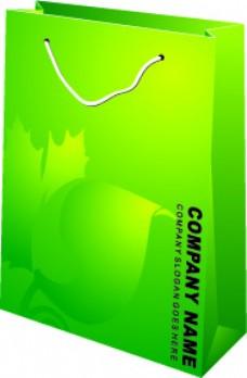 绿色手提袋