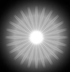 放射线光晕psd分层原创素材