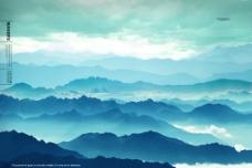 高山流云图片