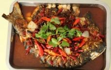 麻辣味烤鱼图片