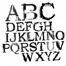 残缺主题字母