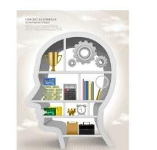 科技创意大脑图片