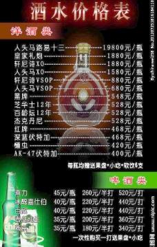 酒水海报设计图片