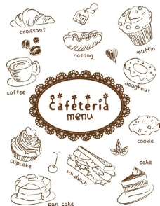 蛋糕美食背景图片
