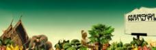 生态绿化图片