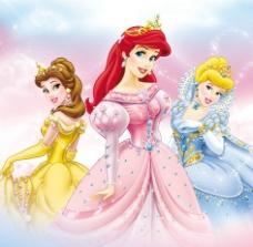 迪士尼公主(合层)图片