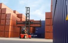 港口集装箱图片