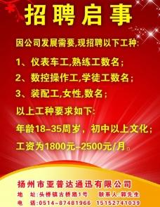 扬州优视企划传媒招聘图片