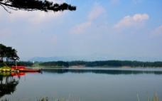 太公湖的水天图片