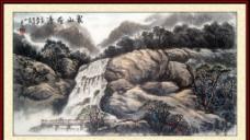 象山飞瀑图片