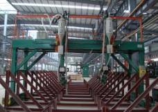 双弧双丝箱型龙门埋弧焊机图片