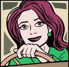 卡通画插图图片