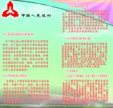中国人民银行展板图片